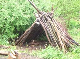 Why Forest School - shelter